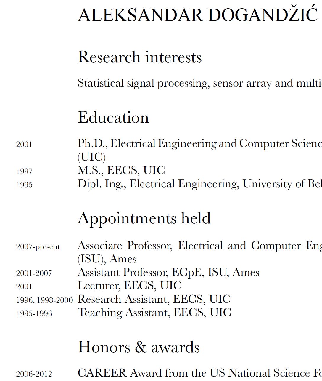 Fein Hochschulprofessor Lebenslauf Fotos - Entry Level Resume ...